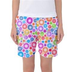 Candy Color s Circles Women s Basketball Shorts