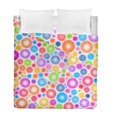 Candy Color s Circles Duvet Cover (twin Size)