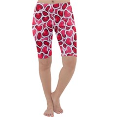 Candy Hearts Cropped Leggings