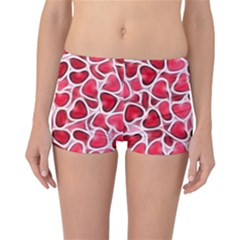Candy Hearts Reversible Boyleg Bikini Bottoms