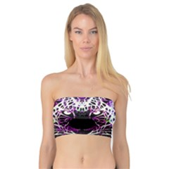 Officially Sexy Panther Collection Purple Bandeau Top