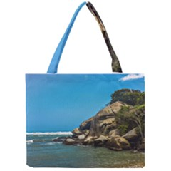 Tropical Beach Of Tayrona National Park Tiny Tote Bags