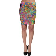 Colorful Autumn Bodycon Skirts