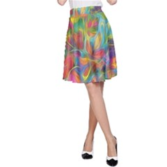 Colorful Autumn A-Line Skirts