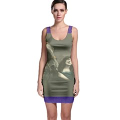 Vintage Woman With Horse Bodycon Dresses