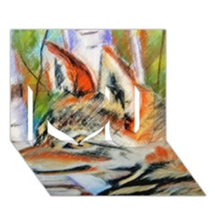 Wolfpastel I Love You 3d Greeting Card (7x5)