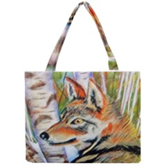Wolfpastel Tiny Tote Bags