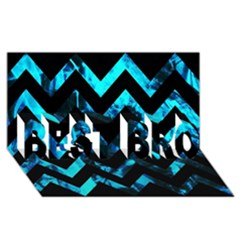 Zigzag BEST BRO 3D Greeting Card (8x4)