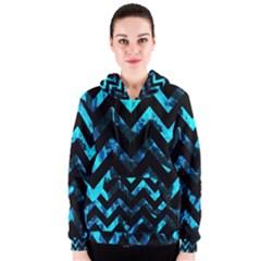 Zigzag Women s Zipper Hoodies