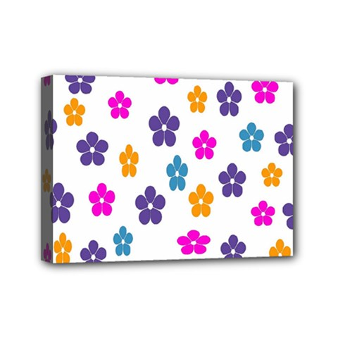 Candy Flowers Mini Canvas 7  X 5