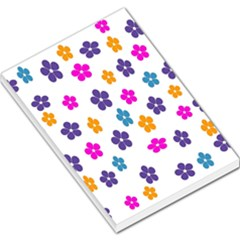 Candy Flowers Large Memo Pads