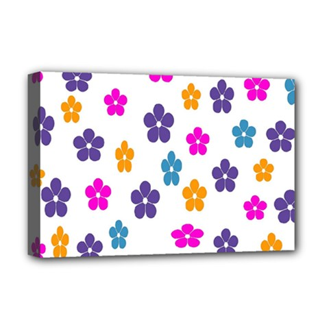 Candy Flowers Deluxe Canvas 18  X 12