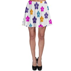 Candy Flowers Skater Skirts