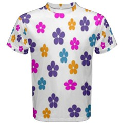 Candy Flowers Men s Cotton Tees