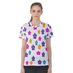 Candy Flowers Women s Cotton Tees
