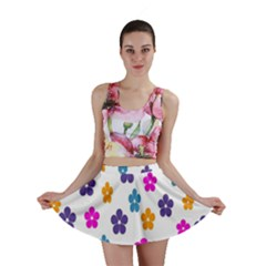 Candy Flowers Mini Skirts