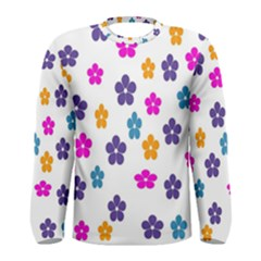 Candy Flowers Men s Long Sleeve T-shirts