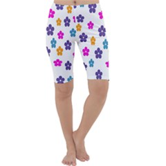 Candy Flowers Cropped Leggings