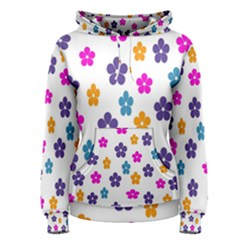 Candy Flowers Women s Pullover Hoodies