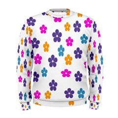 Candy Flowers Men s Sweatshirts