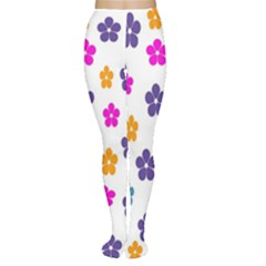 Candy Flowers Women s Tights