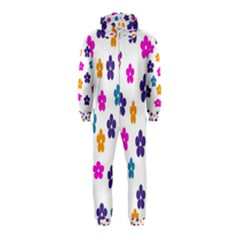 Candy Flowers Hooded Jumpsuit (Kids)