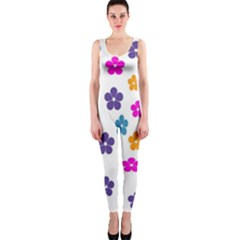 Candy Flowers Onepiece Catsuits