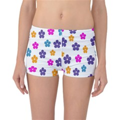 Candy Flowers Reversible Boyleg Bikini Bottoms