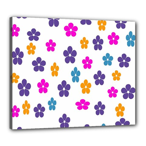 Candy Flowers Canvas 24  X 20