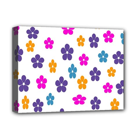 Candy Flowers Deluxe Canvas 16  X 12