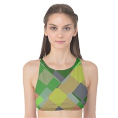Squares and other shapes Tank Bikini Top