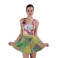 Squares and other shapes Mini Skirt