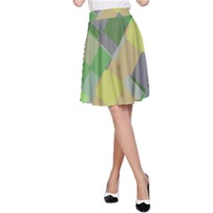 Squares and other shapes A-line Skirt