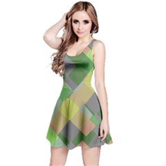Squares and other shapes Sleeveless Dress