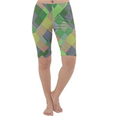 Squares and other shapes Cropped Leggings