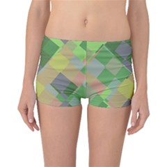 Squares and other shapes Boyleg Bikini Bottoms