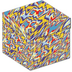 Colorful Chaos Storage Stool
