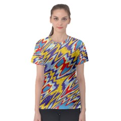 Colorful chaos Women s Sport Mesh Tee