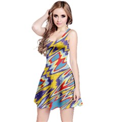 Colorful Chaos Sleeveless Dress