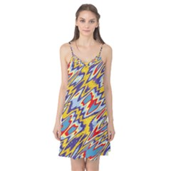 Colorful chaos Camis Nightgown