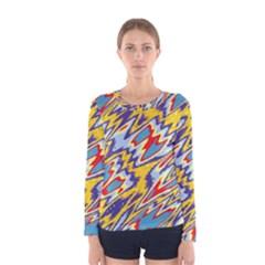 Colorful chaos Women Long Sleeve T-shirt