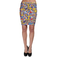 Colorful Chaos Bodycon Skirt