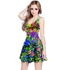 The Neon Garden Reversible Sleeveless Dresses