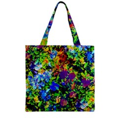 The Neon Garden Grocery Tote Bags