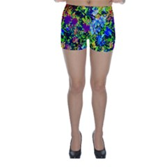 The Neon Garden Skinny Shorts