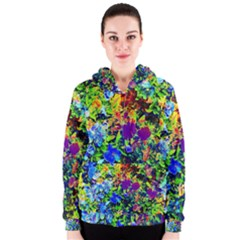 The Neon Garden Women s Zipper Hoodies