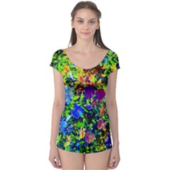 The Neon Garden Short Sleeve Leotard