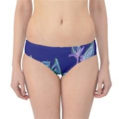 Bluepurple Hipster Bikini Bottoms