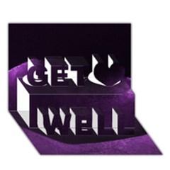 Dsc 03111522222238[1] Get Well 3D Greeting Card (7x5)