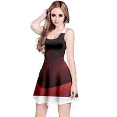 Red Heart Reversible Sleeveless Dresses